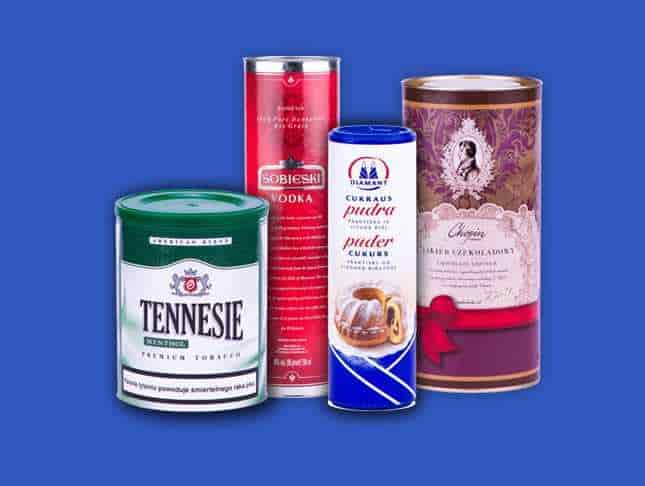 Decoration packing tubes