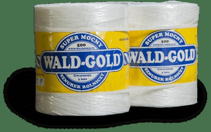 Super mocny sznurek rolniczy Wald-Gold