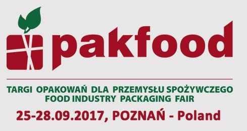 pakfood Targi Opakowań dla przemysłu spożywczego FOOD INDUSTRY PACKING FAIR Waldgold